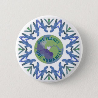 One Planet One Humanity 2 Inch Round Button