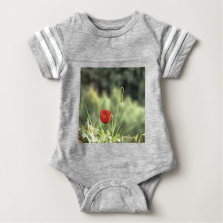 One Poppy Baby Bodysuit