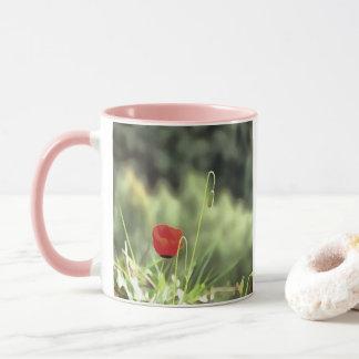 One Poppy Mug