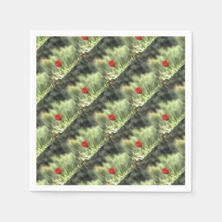 One Poppy Paper Napkin