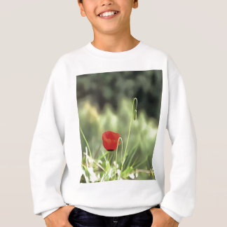 One Poppy Sweatshirt