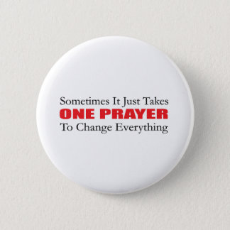 One Prayer Button