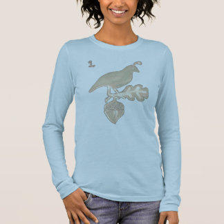 one quail long sleeve T-Shirt