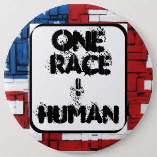 One Race, HUMAN. Button