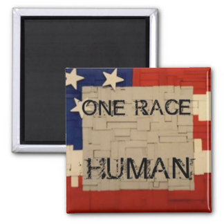 One Race HUMAN Magnet