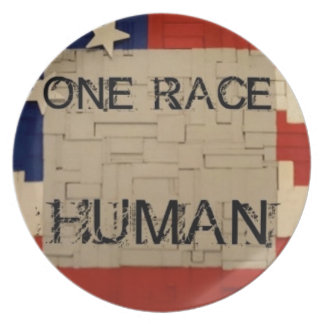 One Race Human Party Plate