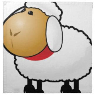 one ram sheep napkin
