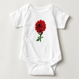 One Red Dahlia Infant Onsie / Creeper
