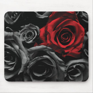 One Red Rose Mouse Pad