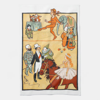 One Ring Circus: The Ringmaster & Crew Kitchen Towel