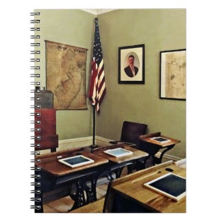One Room Schoolhouse In New Jersey Notebooks