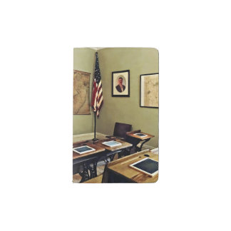 One Room Schoolhouse In New Jersey Pocket Moleskine Notebook