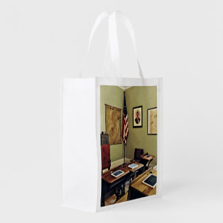 One Room Schoolhouse In New Jersey Reusable Grocery Bag