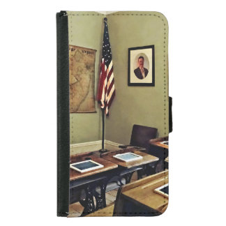 One Room Schoolhouse In New Jersey Samsung Galaxy S5 Wallet Case