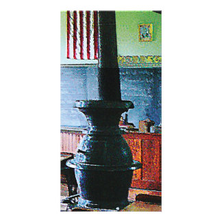 One Room Schoolhouse Photo Greeting Card
