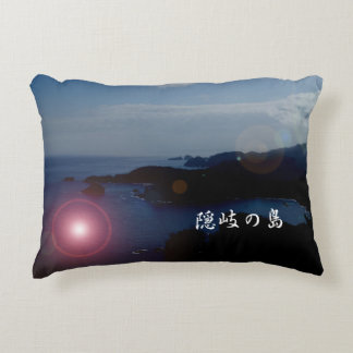 One scene of overseas paralleling of Oki island* Decorative Pillow