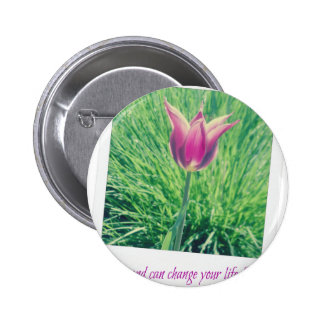 one second can change your life forever 2 inch round button