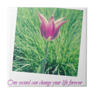 one second can change your life forever tile
