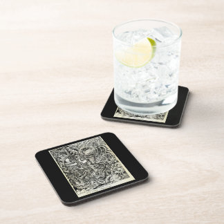 One-Sided Competition, by Brian Benson Coaster