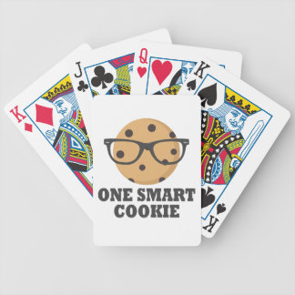 One Smart Cookie Bicycle Playing Cards