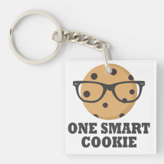 One Smart Cookie Keychain
