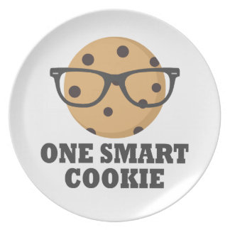 One Smart Cookie Plate