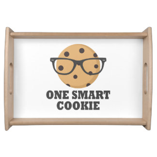 One Smart Cookie Serving Tray