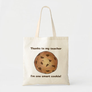 One Smart Cookie Teacher School Gift Teaching Tote