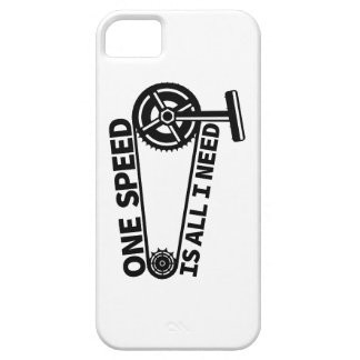 One Speed Is All I Need, single speed fixie Case For The iPhone 5