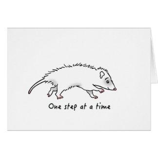 One Step Possum Card