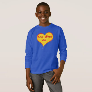 One Super Kid Basic Long Sleeve T-Shirt