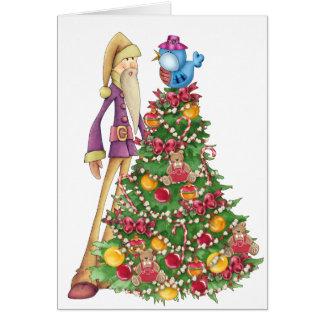 One Tall Santa - SRF Greeting Card