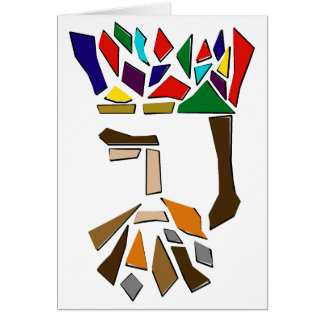 One Third of Three Kings Card
