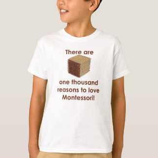 One Thousand Reasons to Love Montessori Kids' T T-Shirt