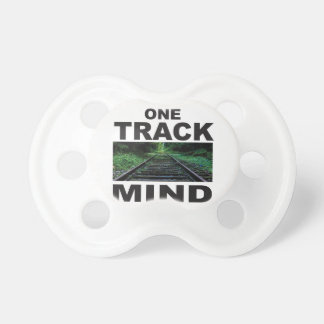 one track mind fun baby pacifier