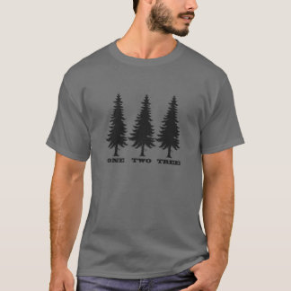 One, Two, Tree T-Shirt