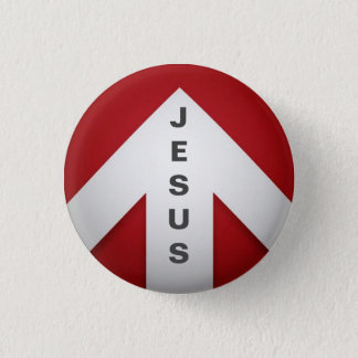 One Way - Jesus 1 Inch Round Button