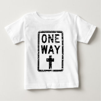 one way sign baby T-Shirt
