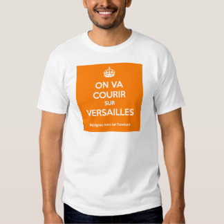 One will run on Versailles Shirts