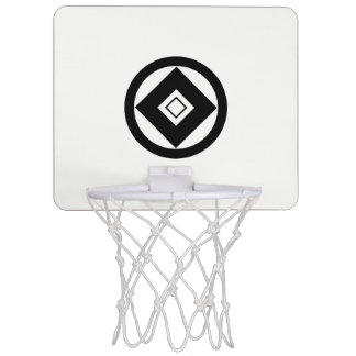 One willow house double nail 貫 mini basketball backboard
