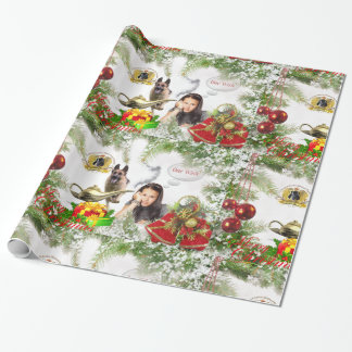 One Wish German Shepherd Wrapping Paper