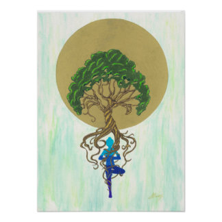 One with the Earth Poster