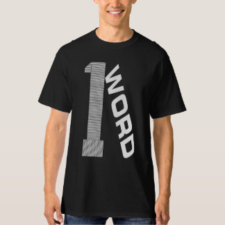One Word Men's Tall Hanes T-Shirt