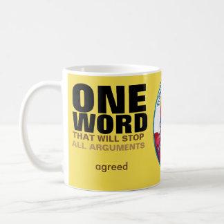 One Word - Quote Mug