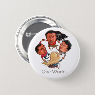 One World Global Community Button