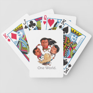 One World Global Community Playing Cards