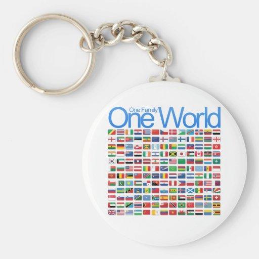 One World Keychains
