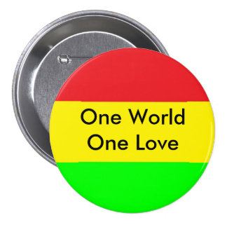 One World One Love Pin