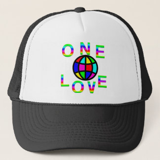 One World One Love Trucker Hat