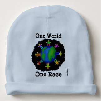 One World, One Race Baby Beanie